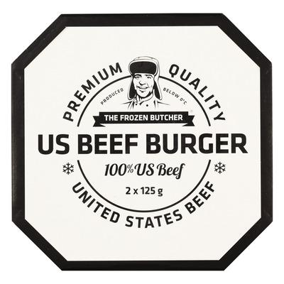 The Frozen Butcher US beefburger