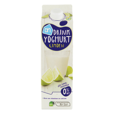 Huismerk Drinkyoghurt limoen