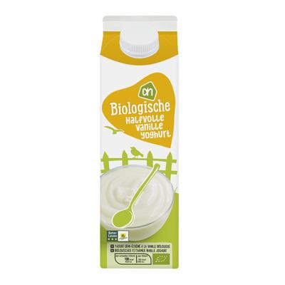 Huismerk Biologisch Halfvolle vanille yoghurt