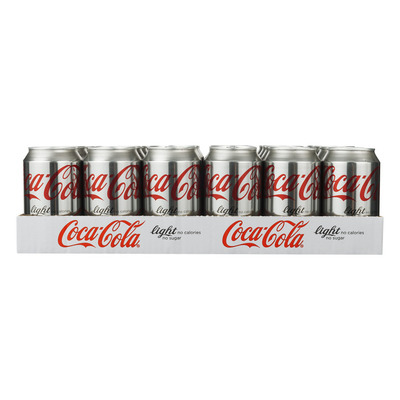 Coca-Cola Light tray