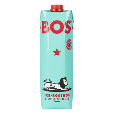 BOS Ice tea rooibos lime & ginger