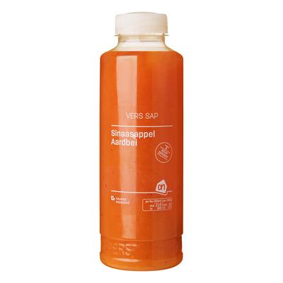 Huismerk Vers sap sinaasappel-aardbei