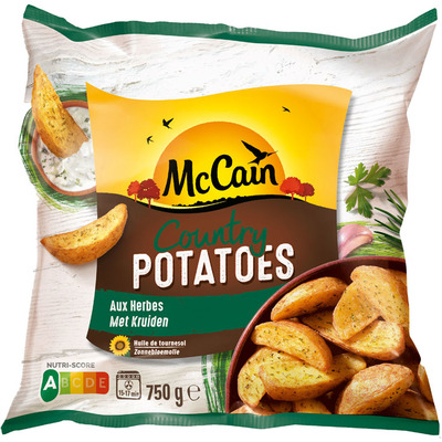 McCain Country potatoes