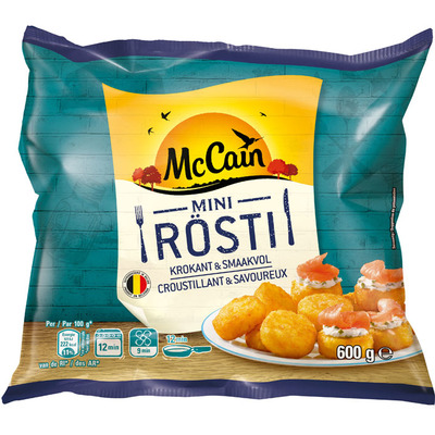 McCain Mini rösti naturel