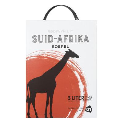 Huismerk Zuid-Afr.huiswijn soepel rood bag in box