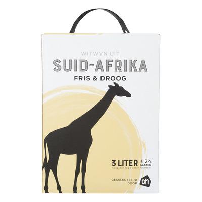 Huismerk Zuid-Afrika huiswijn fris en droog wit