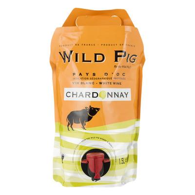 Wild Pig Chardonnay pouch