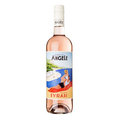 La Belle Angèle Syrah rosé