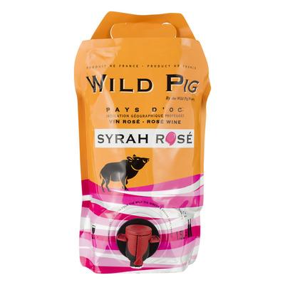 Wild Pig Syrah rosé pouch