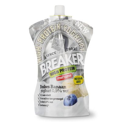 Melkunie Breaker high protein bosbes-banaan
