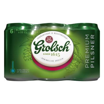 Grolsch Premium pilsner blik