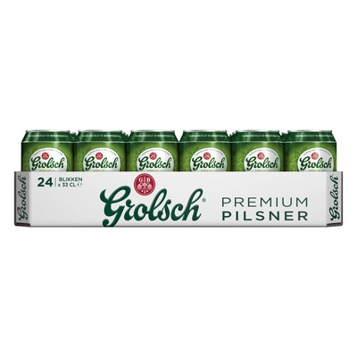 Grolsch Premium pilsner tray