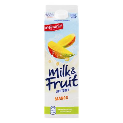 Melkunie Milk & fruit lichtzoet mango