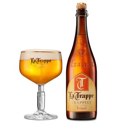 La Trappe Tripel trappist fles speciaal bier