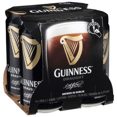 Guinness Draught 4-pack