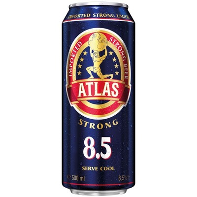 Atlas Extra strong beer 8,5 %