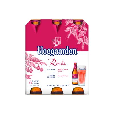 Hoegaarden Rosée Flessen