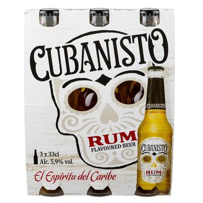 Cubanisto Rum flavoured beer