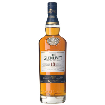 Glenlivet Single malt Scotch whisky 18 years