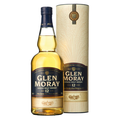 Glen Moray Single malt whisky 12 years