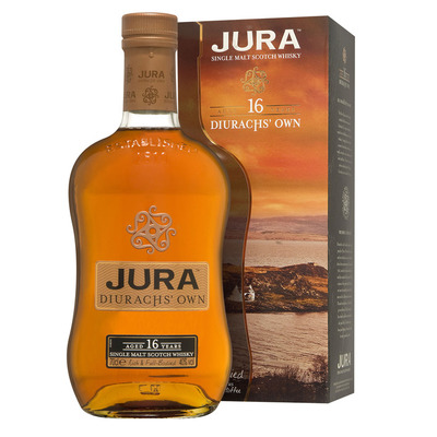 Isle of Jura Single malt Scotch whisky 16 years