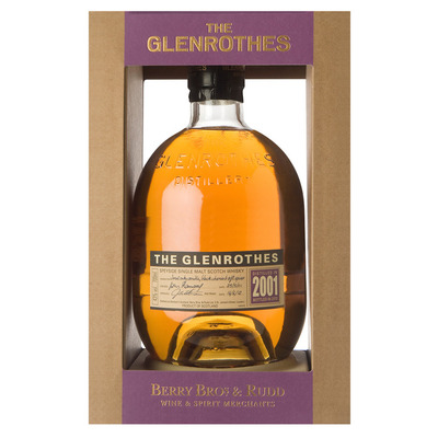 Glenrothes Single malt Scotch whisky vintage 2001