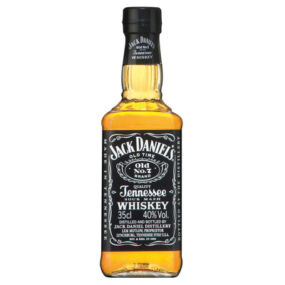 Jack Daniels Tennessse sour mash whiskey