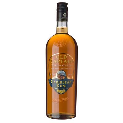 Old Captain Well matured Caribbean rum