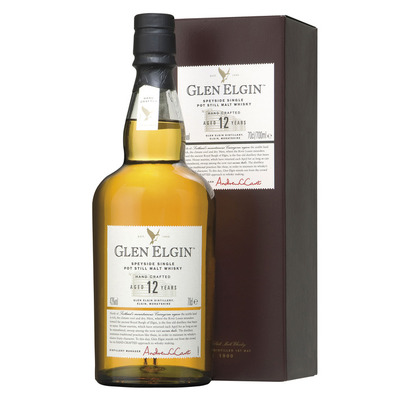 Glen Elgin Single pot still malt whisky 12 years