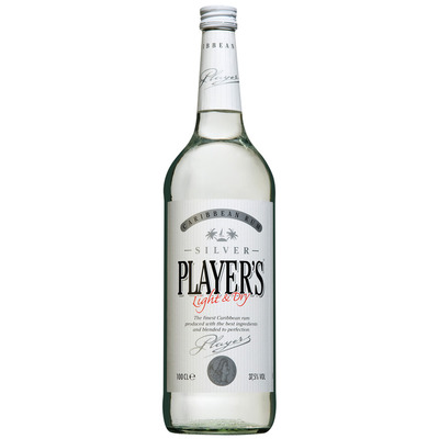 Player's Rum silver