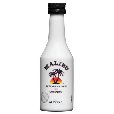 Malibu Caribbean rum coconut mini