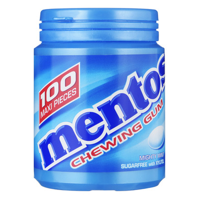 Mentos Gum Bottle mighty mint