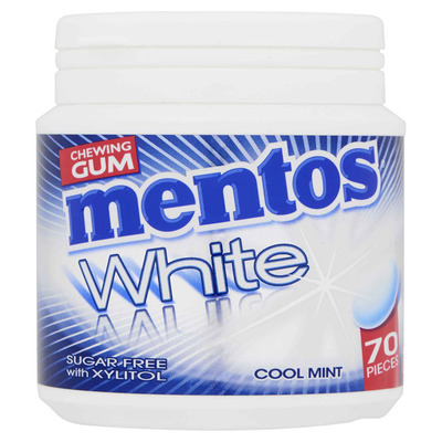 Mentos Gum White cool mint