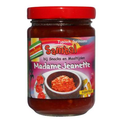 Moksi Patoe Madame jeanette sambal