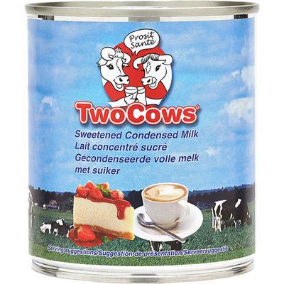 Two cows Gecondenseerde volle melk met suiker