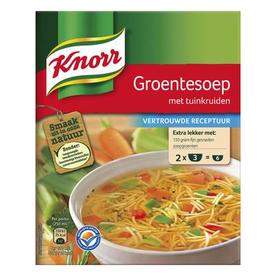 Knorr Mix groentesoep