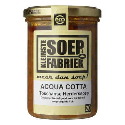 Kleinste Soepfabriek Aqua cotta herderssoep
