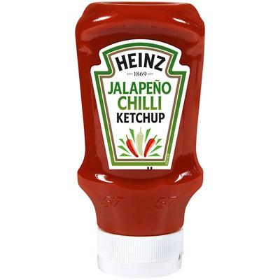 Heinz Jalapeño chilli ketchup