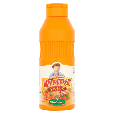 Oliehoorn Wimpiesaus met Zoetpittige Cherry Peppers