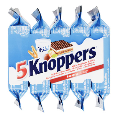 Knoppers Melk hazelnootwafel