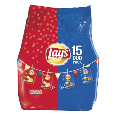 Lay's Duopack (naturel & paprika)