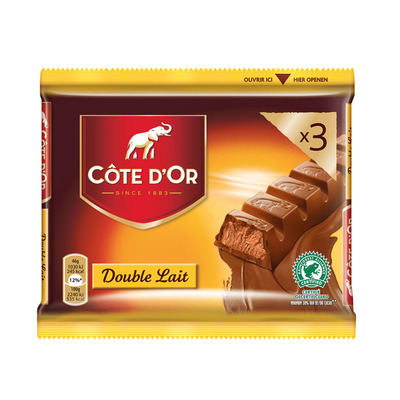 Côte d'Or Reep double lait