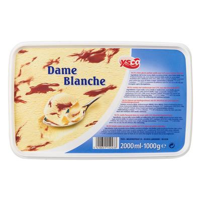 Ysco Dame blanche roomijs.