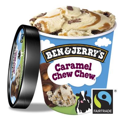 Ben & Jerry's IJs caramel chew chew