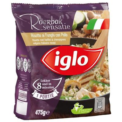 Iglo Roerbaksensatie risotto kipfilet funghi