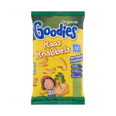 Organix Goodies Kaas Knabbels 12+M