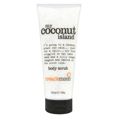 Treaclemoon My coconut island body scrub