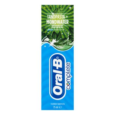 Oral-B Tandpasta fris & whitening
