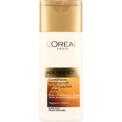 L'Oréal Paris Age Perfect Comfort. Reinigingsmelk Rijpe Huid