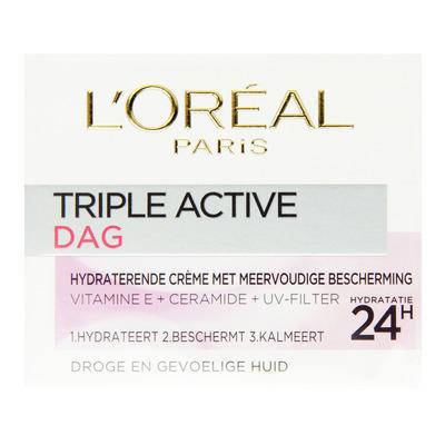 L'Oréal Dermo triple active droge gevoelige huid